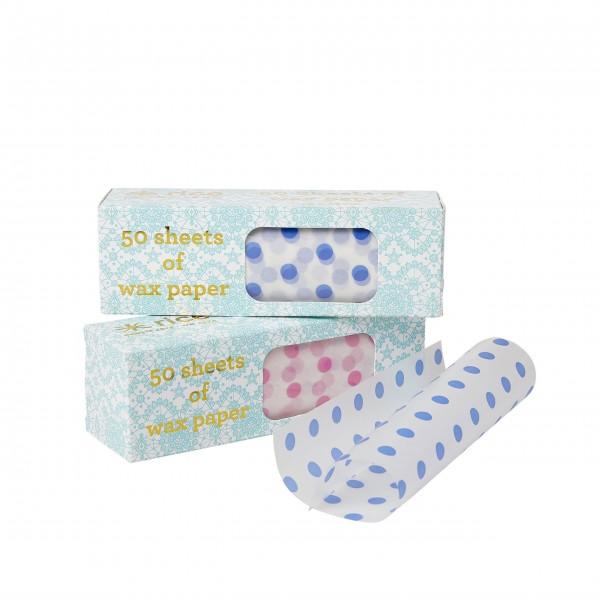 Fröhliches polka-Dots-Design von Rice: Brotpapier im Set