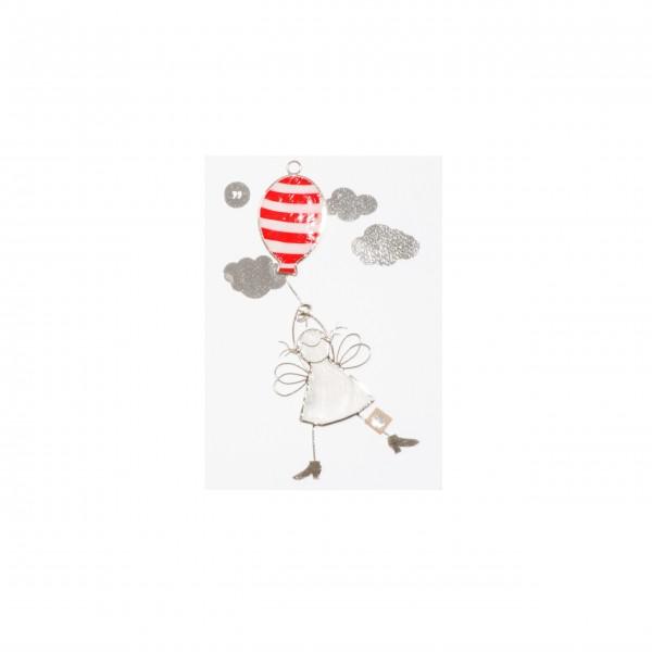 """Engel """"Luftballon"""" - schwebend von Good old friends."""