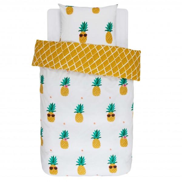 "Covers & Co Bettwäsche ""Ananas"" (gelb)"