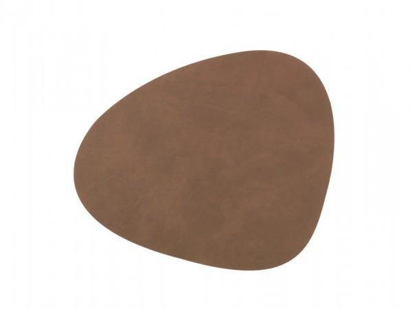 "LindDNA Tischset ""Curve"" Nupo L (Braun)"