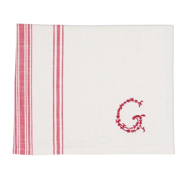 """Stilvolle Tischdecke """"G"""" von GreenGate"""