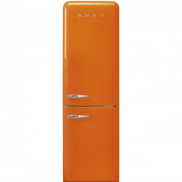"""smeg Kühl-/Gefrierkombination """"50's Retro Style"""" FAB32 mit Türanschlag rechts (Orange)"""