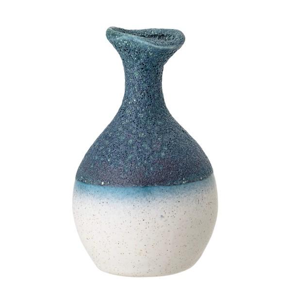 Bloomingville Vase mit Farbverlauf (Blau/Weiß)