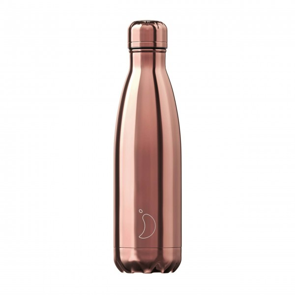 "CHILLY'S Bottle Isolierflasche ""Rose Gold"" - 500 ml (Roségold)"