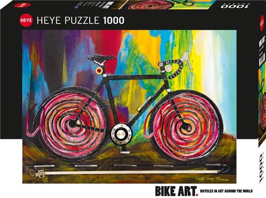 Puzzle Momentum BIKE ART Standard 1000 Pieces