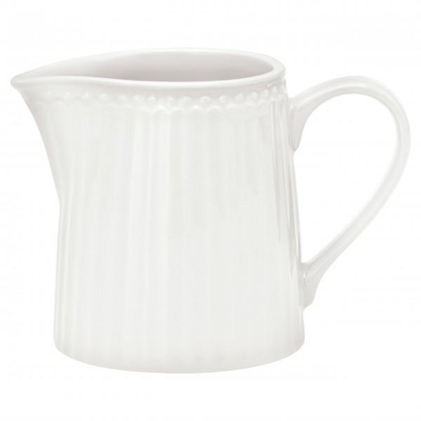 Milchkännchen aus der klassisch weißen Alice-Serie
