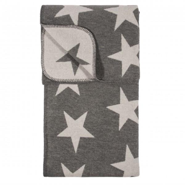 "Decke ""STARS"" (Grau)"