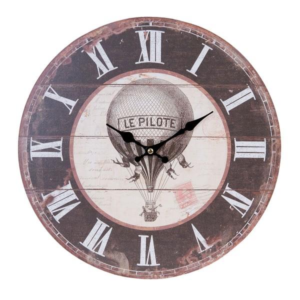 Hübsche Wanddeko für Ihre vier Wände - Nostalgische Uhr von Clayre & Eef