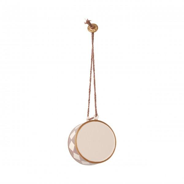 "Maileg Metall-Ornament ""Große Trommel"" (Grau)"