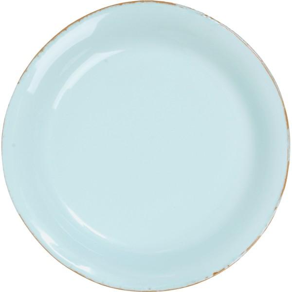 Meerblauer Teller aus Keramik von CASAgent