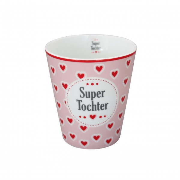 "Krasilnikoff - Happy Mug ""Super Tochter"""
