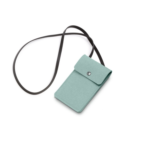 Filz-Smart Bag - 11x18 cm (Hellblau/Aqua) von HEY-SIGN