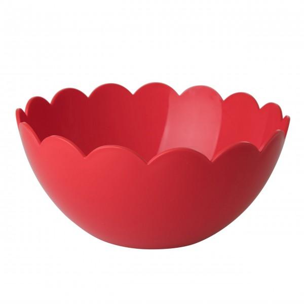 Rote Salatschüssel aus Kunststoff: von Rice