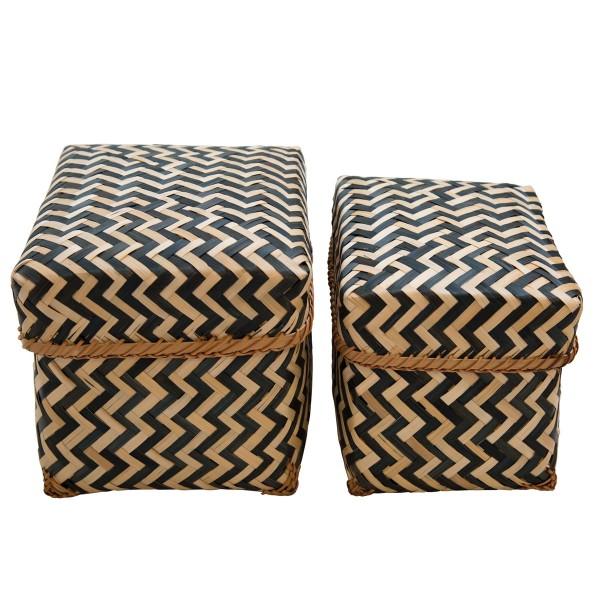 Coole Aufbewahrungskörbe aus Bambus