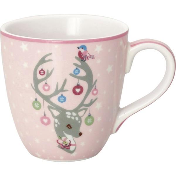 """GreenGate Kinder-Tasse """"Dina"""" (Pale Pink)"""