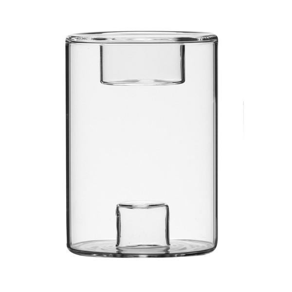 Kerzenhaltzer 2 in 1: für das Teelicht und die Stabkerze
