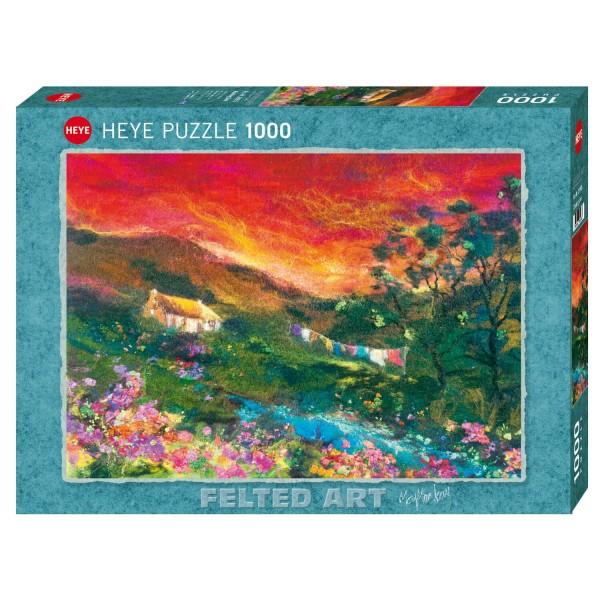 """Puzzle """"Washing Line"""" von HEYE"""