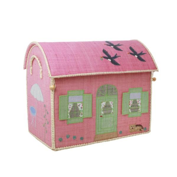 "rice Spielzeugkorb ""House"" - M"