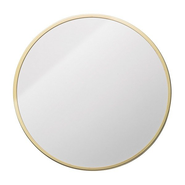 "Bloomingville Spiegel ""Circle"" (Gold)"