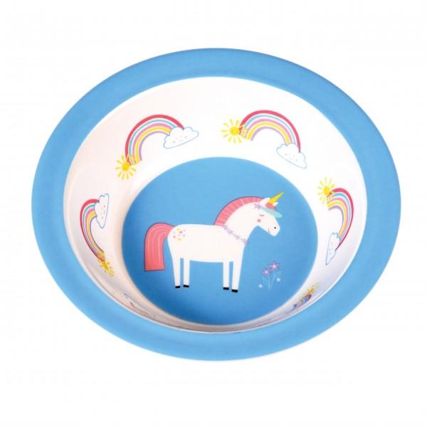 """Hübsche Melaminschale """"Unicorn"""" perfekt für Unterwegs"""