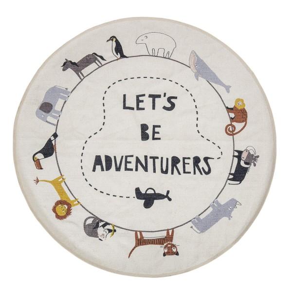 """Bloomingville Spieleteppich """"Let´s be Adventurers"""" (Bunt)"""