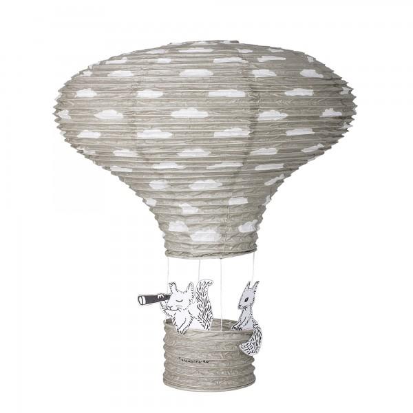 Jabadabado Lampenschirm Ballon Pink Heissluftballon Kinderzimmerlampe