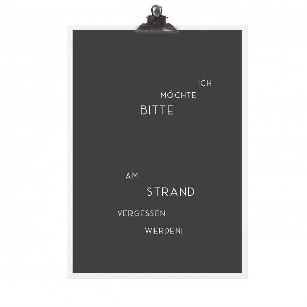 Urlaubssehnsucht mit dem Poster von TAFELGUT!