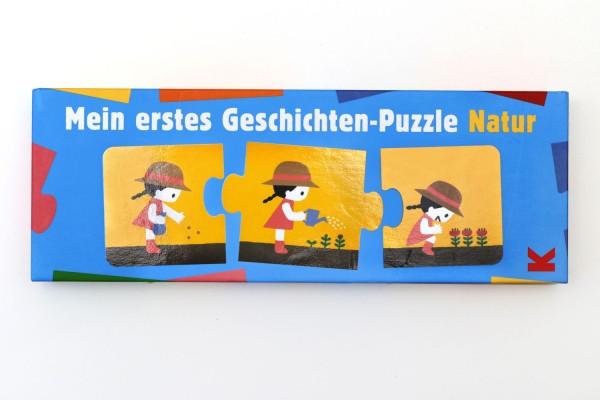 """Lernspiel """"Mein erstes Geschichten-Puzzle Natur"""" von Laurence King"""
