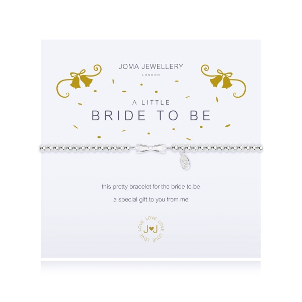 """Armband """"a little - Bride To Be"""" von Joma Jewellery"""
