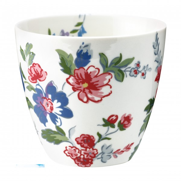 """GreenGate Latte Cup """"Isobel"""" (White)"""