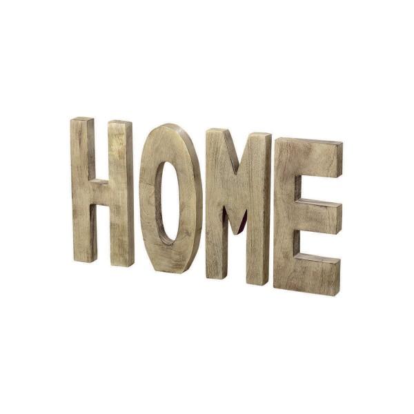 """Deko-Aufsteller """"Home"""" im 4er-Set"""