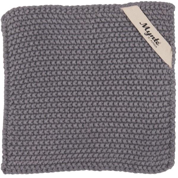 Ib Laursen Mynte-Textilien: Topflappen in Grau