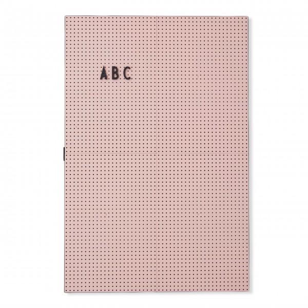 "DESIGN LETTERS Letterboard ""A2"" (Pink)"