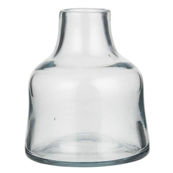 Ib Laursen Vase mundgeblasen - Öffnung Ø 4,5 cm (Klar)
