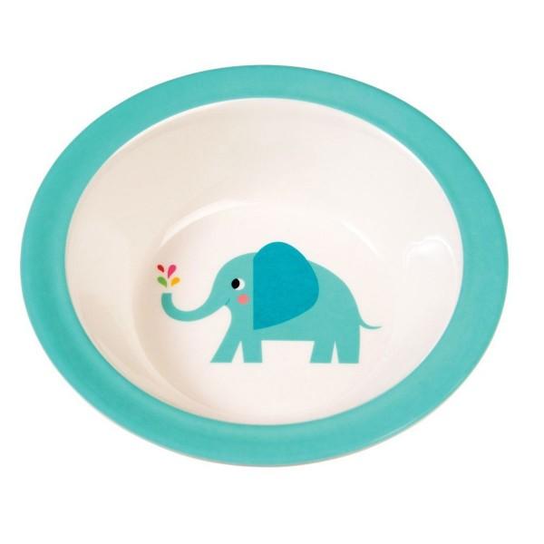 Tierisch süß: Melaminschale mit Elefant für Kinder