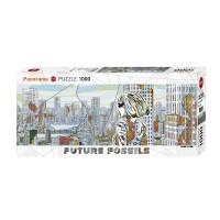 """Puzzle """"Aquapolis, Future Fossils"""" von HEYE"""
