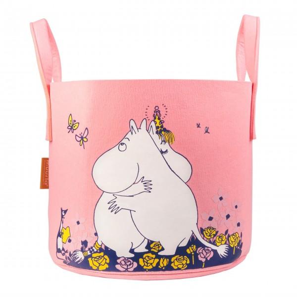"""Aufbewahrungskorb """"Moomin"""" - 30l (Pink)"""