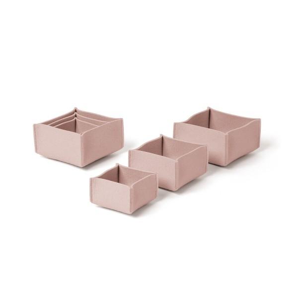 Filz-Box-Set 1 - SML (Rosa/Powder) von HEY-SIGN