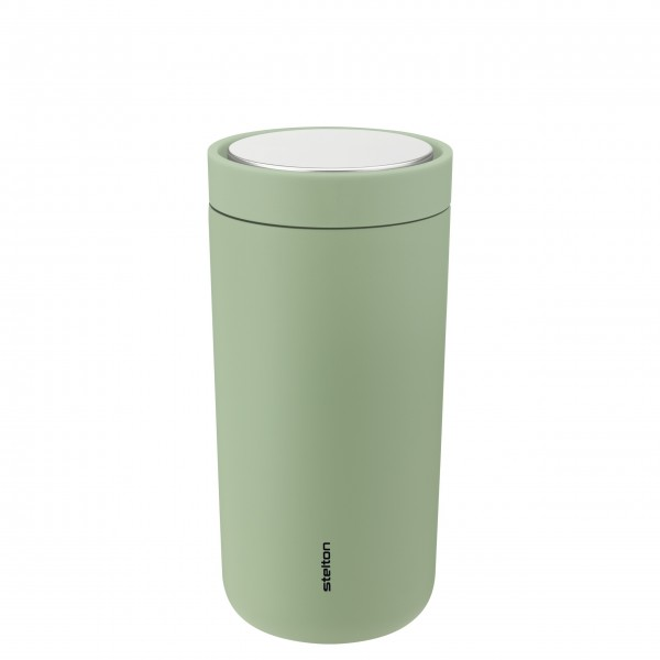"""Stelton Thermobecher """"To-Go Click"""" - 400 ml (Soft Seagrass)"""