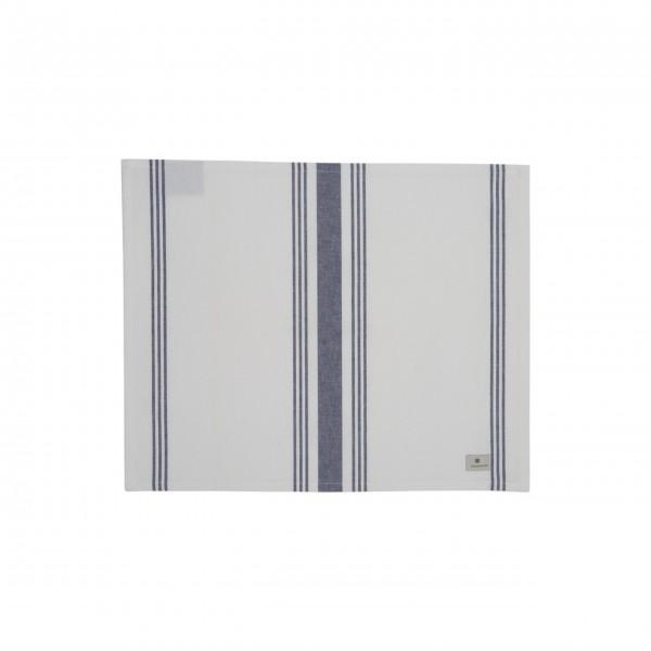 Lexington gestreiftes Tischset 40x50cm (Weiß / Blau)