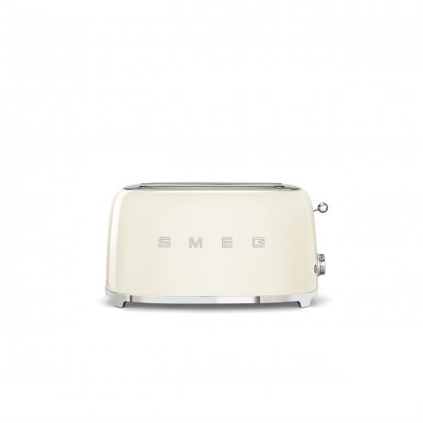 SMEG Zwei-Schlitz-Toaster, lang, 4 Scheiben, 50's Style