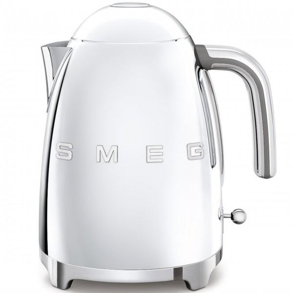 "smeg Wasserkocher ""50's Retro Style"" (Chrom), feste Temperatur"