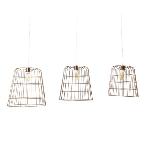 Coole Deckenlampen im 3er-Set