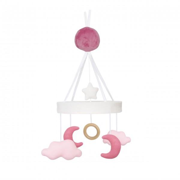 JaBaDaBaDo Mobile Musik Mond (Pink)