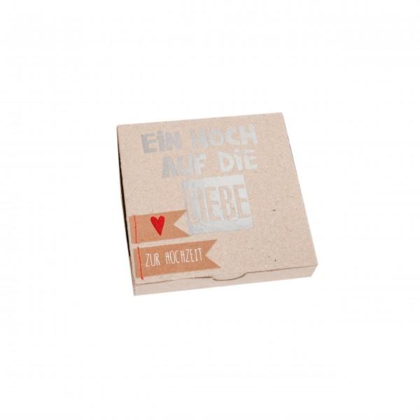 """Kartenbox """"Ein Hoch auf die Liebe"""" von Good old friends."""