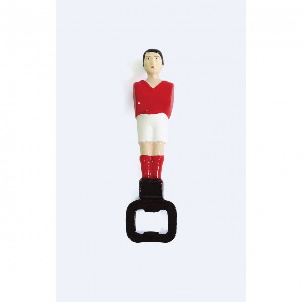 """Flaschenöffner """"Fußball"""" (Rot) von DOIY Design"""