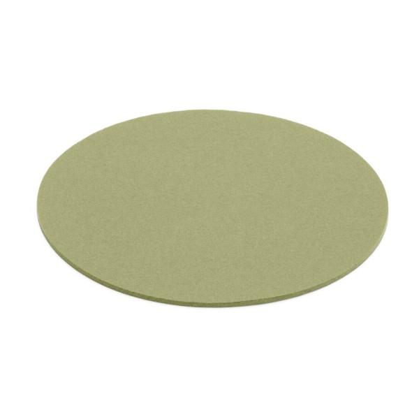 Filz-Untersetzer rund - 20 cm (Hellgrün/Pistazie) von HEY-SIGN