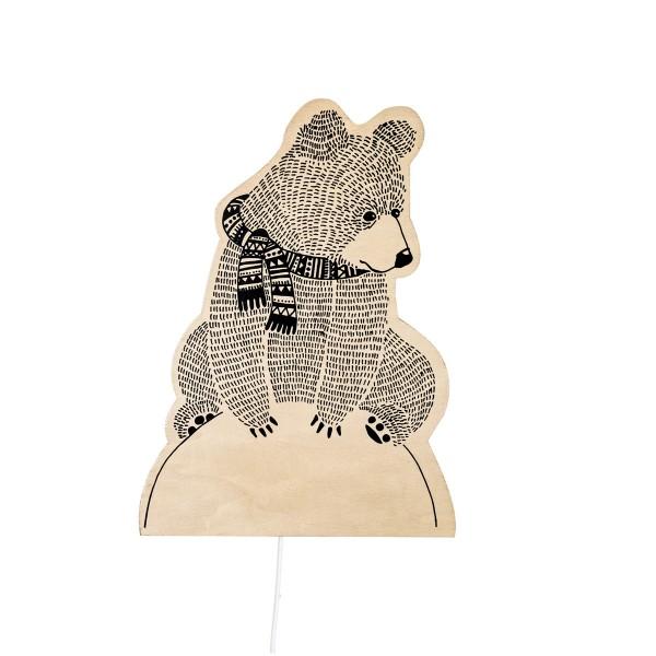 Liebevoll designte Lampe von Bloomingville