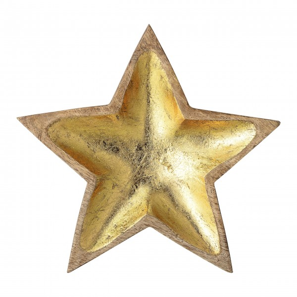 "Bloomingville Dekoschale ""Star"" (Gold)"