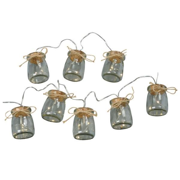 Charmante Lichterkette mit 24 kleinen LEDs